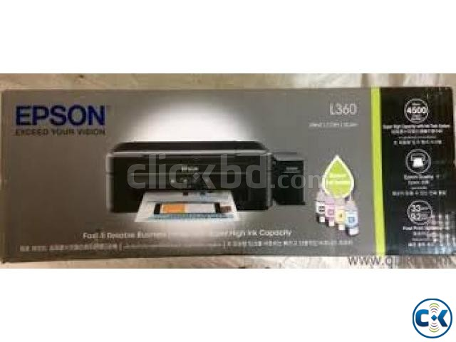 EPSON PRINTER -PRINTER EPSON L-380 ALL-IN-ON | ClickBD large image 3