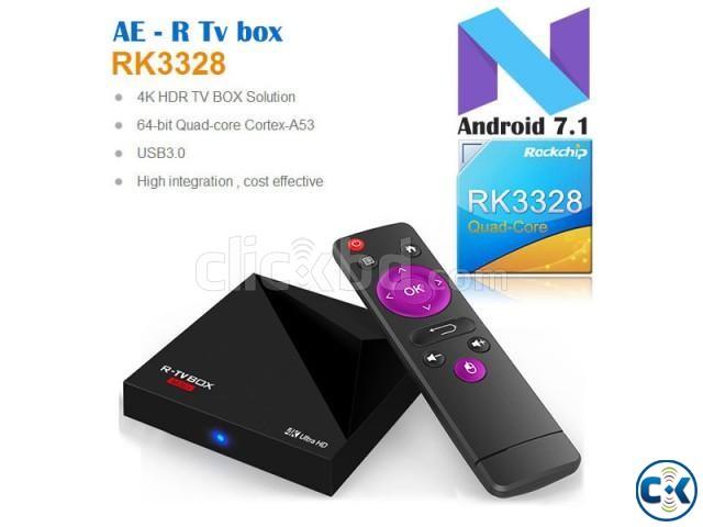 R-TV BOX MINI Android 7.1 Quad core TV BOX | ClickBD large image 0