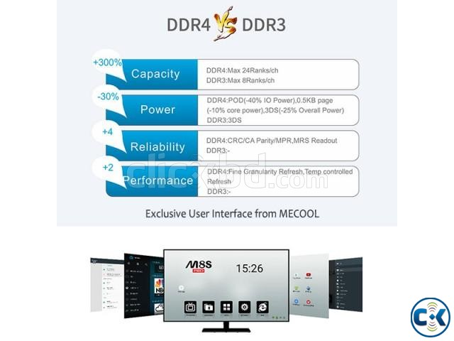 Android 7.1 MECOOL M8S PRO DDR4 2 16G | ClickBD large image 3