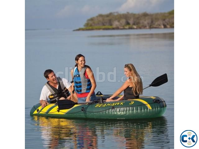 Seahawk 3 air Boat Hi-quality Load 300kg | ClickBD large image 0