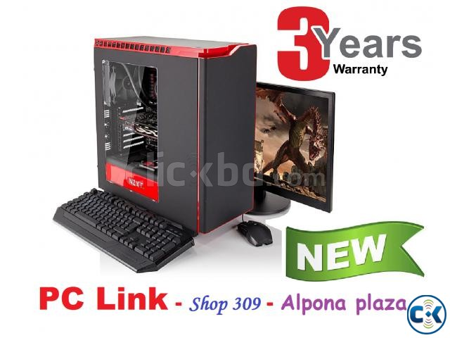 GAMING CORE i3 7TH GEN 4GB 320GB 17 LED | ClickBD large image 2