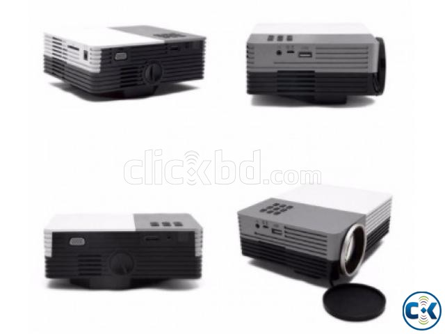 MINI MULTIMEDIA LED PROJECTOR 150 LUMENS  | ClickBD large image 0