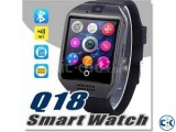 Original Q18s Sim Gear supported Smart Watch intact box