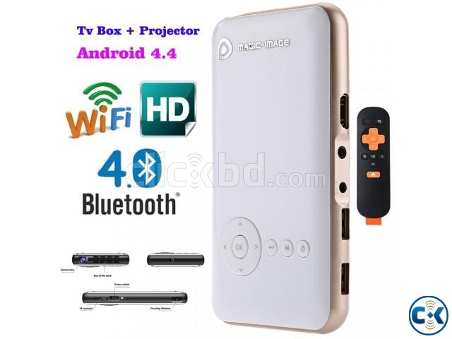 Andriod Wifi DLP Pocket Projector | ClickBD large image 2
