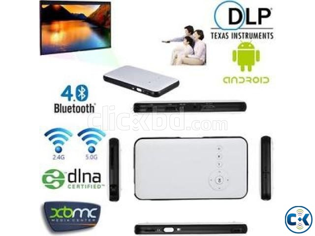Andriod Wifi DLP Pocket Projector | ClickBD large image 3
