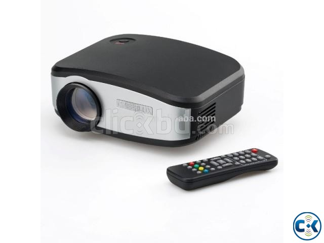 LED Multimedia Projector C6 with tv port | ClickBD large image 1