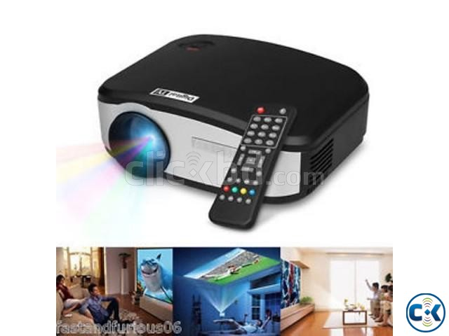 LED Multimedia Projector C6 with tv port | ClickBD large image 2