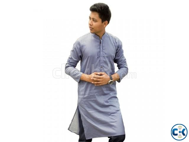Gents semi long Punjabi   ClickBD large image 0