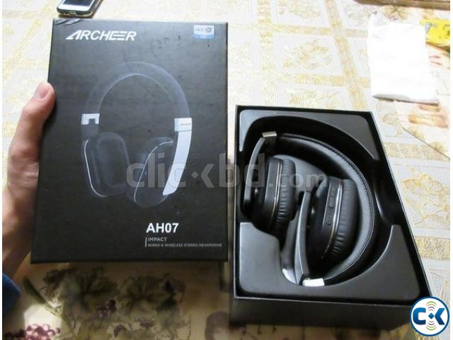 Archeer Bluetooth 4.0 Wireless Over Ear Headphones with Mic | ClickBD large image 0