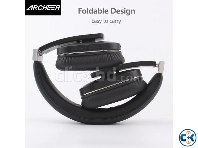 Archeer Bluetooth 4.0 Wireless Over Ear Headphones with Mic | ClickBD large image 1