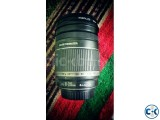 Canon 18-200mm Image Stabilizer Lens with UV filter caps
