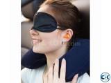 Tourists 3in1 Travel set U Pillow Eye Mask Ear plug