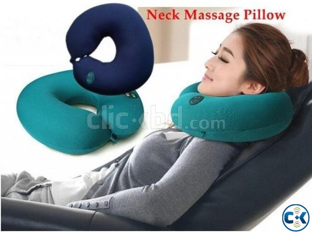 Neck Massage Refreshment Cushion Pillow | ClickBD large image 0