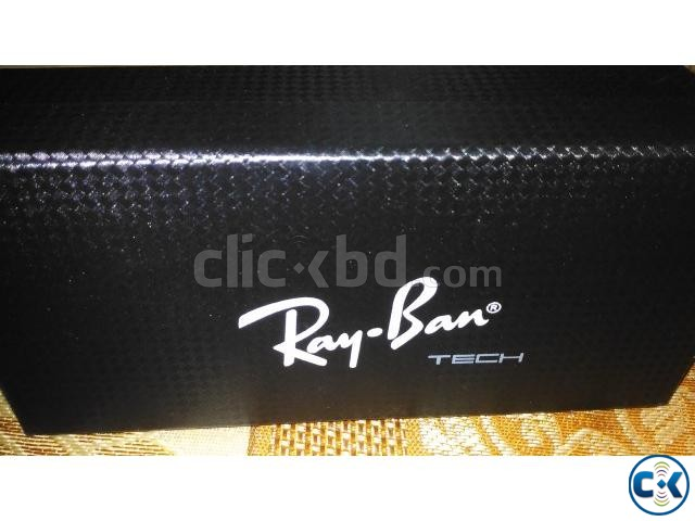 Ray ban wood frame glasses | ClickBD large image 0