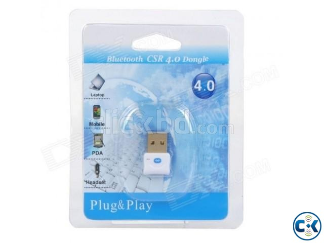 Mini Bluetooth CSR 4.0 USB Dongle Adapter | ClickBD large image 1