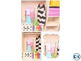 Holes Scarf Holder Hook Storage Holder for Rattan Weave Shaw