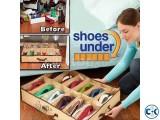 Fabric Shoe Storage with 12 Pairs Holder