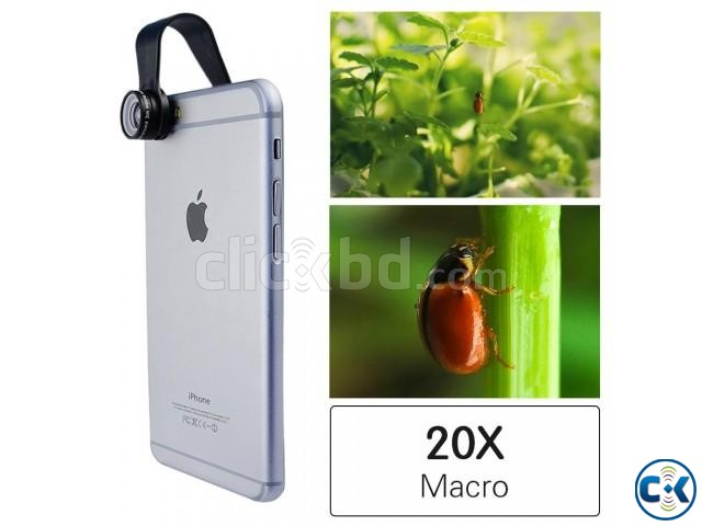 20X Macro Lens Discount price  | ClickBD large image 1