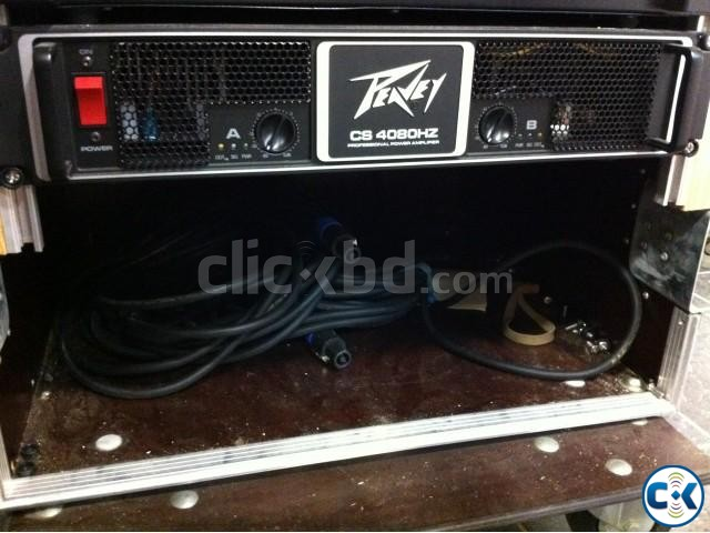 NEW peavey 4-80 power amp | ClickBD large image 0