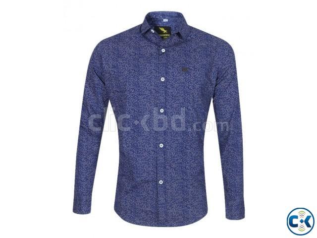 Premium Men s printed Slim fit full sleeve shirts   ClickBD large image 3