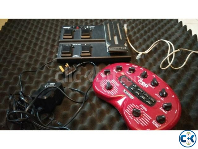 line 6 pod2.0 with FBV express foot switch | ClickBD large image 0