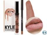 Kylie Lip Kit Matte Liquid Lipstick and Lip Liner - Candy K