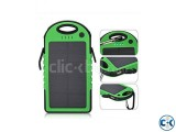 5000 mAh Solar Charger Battery USB Power Bank For Mobile