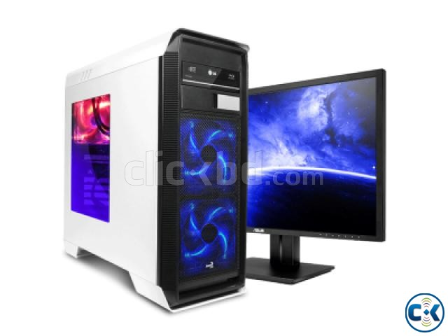 Eid Offer New Gaming Core i5 500GB 4GB 17 LED | ClickBD large image 1