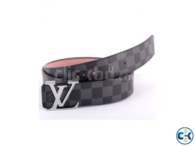 Formal Belt - Black Texture | ClickBD large image 0