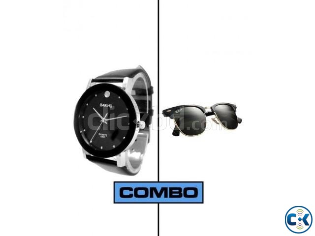 Combo of Watch Sunglasses. | ClickBD large image 0