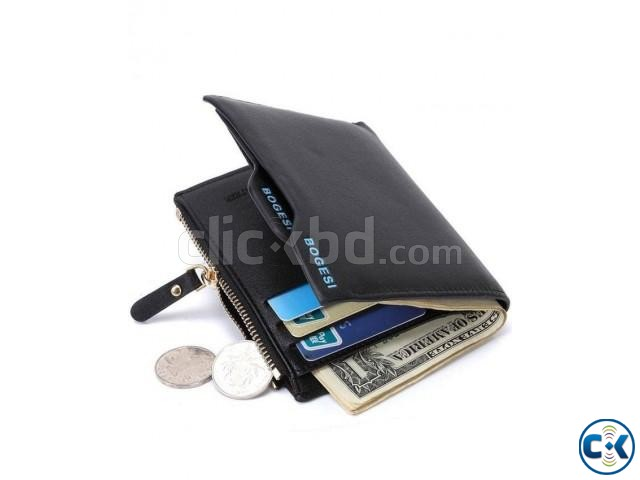 Bogesi Men s Wallet - Black | ClickBD large image 2