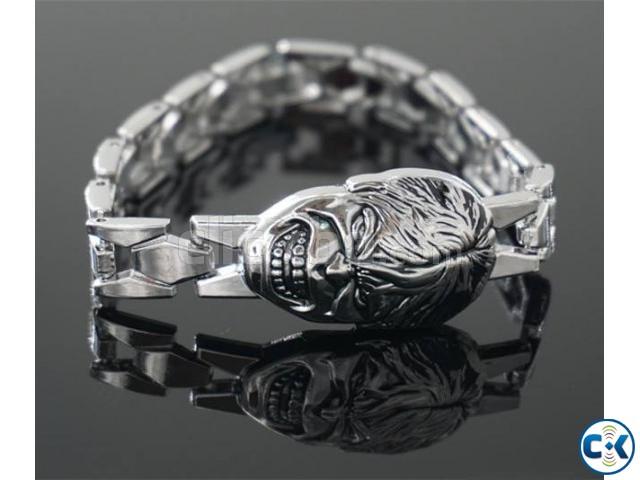 Avengers Hulk silver Bracelet | ClickBD large image 0