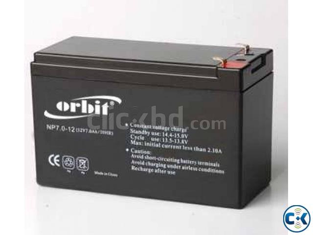 12V 7.5Ah Sealed Lead Acid Battery   ClickBD large image 0