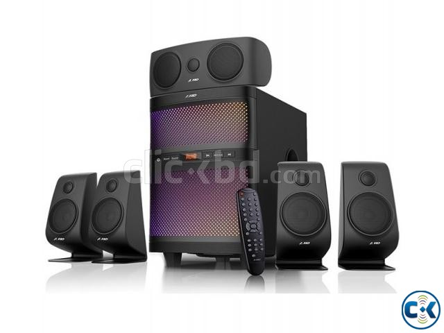F D F5060X Bluetooth 5 1 FM Radio Home Audio System | ClickBD large image 0