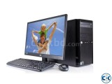Core i5 3.20 Gaming PC 4GB 320GB 17 LED