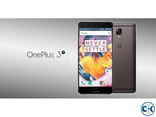 Brand New ONE PLUS 3T 128GB Sealed Pack 1 Yr Warranty | ClickBD large image 0
