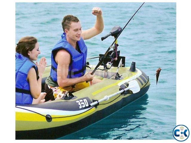 Boat Fishman 350 set travel sports 4man Boat | ClickBD large image 0