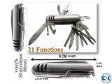 14-in-1 Stainless Steel Pocket Knife-14