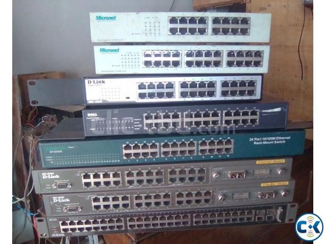 Internet switch 8 16 24 48 port | ClickBD large image 0