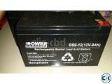 Powerguard 12v 9A UPS Battery