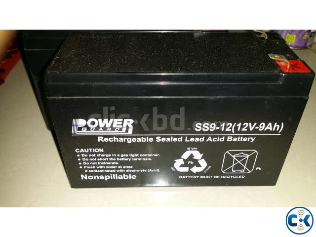 Powerguard 12v 9A UPS Battery | ClickBD large image 0