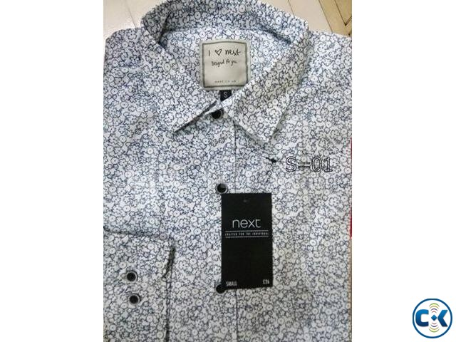 Quality Full Branded Men s Slim Fit Shirts | ClickBD large image 0