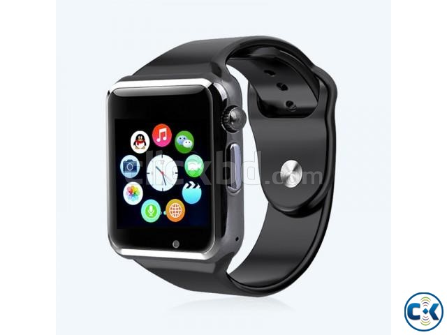 i-watch W8 smart Mobile watch Single Sim intact Box | ClickBD large image 0