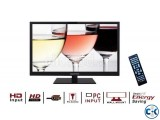 classic View 22 Inch LED HD TV Monitor with Built In Speaker