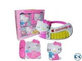 4 in 1 hello kitty music toy set