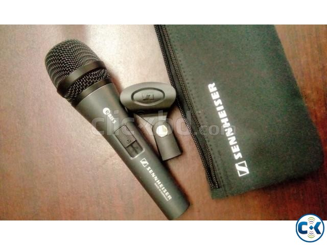 Sennheiser e 835-S professional dynamic Microphone with Box | ClickBD large image 1
