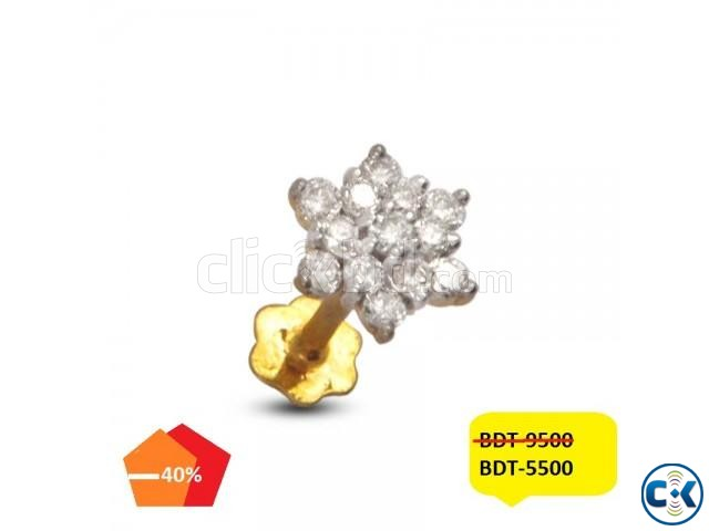Diamond nose pin   ClickBD large image 0