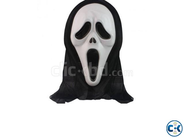 Horror Mask - Black and White | ClickBD large image 0