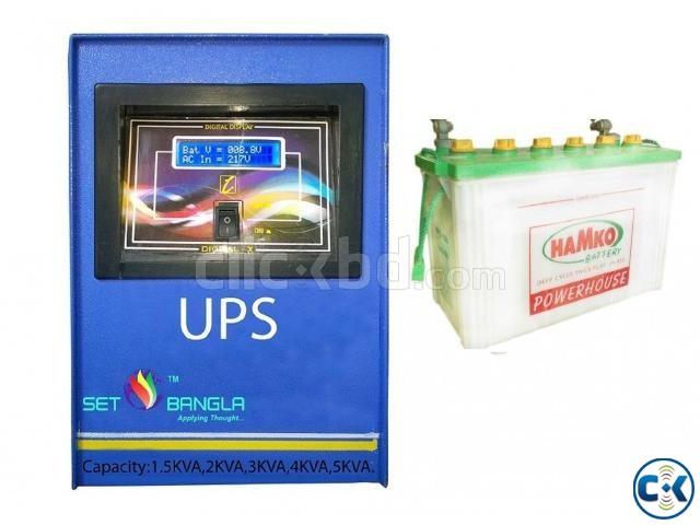 Digital UPS IPS 5KVA Backup 20 Minutes | ClickBD large image 0