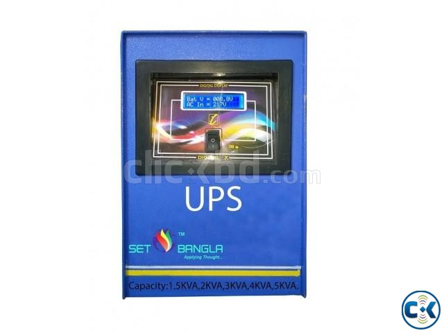DSP Pure Sine Wave Digital UPS IPS 6KVA | ClickBD large image 0